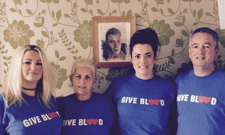 Lizzie and Jordan's family raise awareness for blood donation