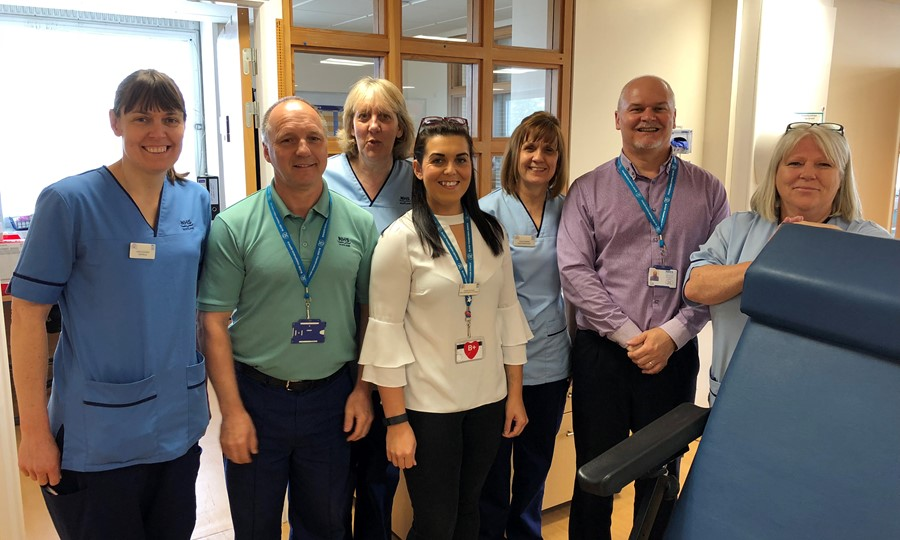 Dundee Donor Team based at Ninewells Hospital.