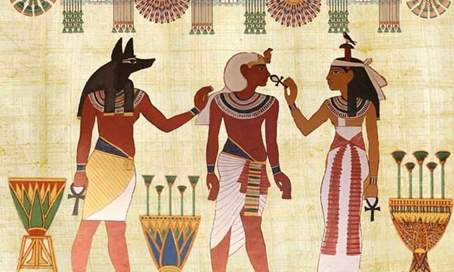 Ancient Egyptians avoided drinking wine due to its resemblance to blood.