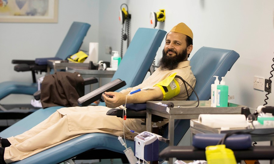 The Imam Hussain Blood Donation Campaign encourages Muslims and people of all communities in Scotland to give blood during the holy month of Muharram
